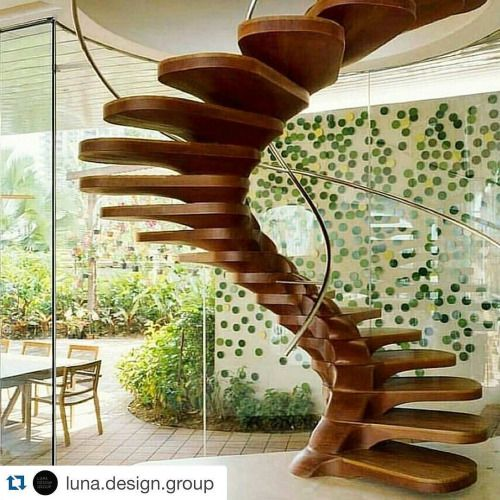 What an inspirational spiral staircase the find of...