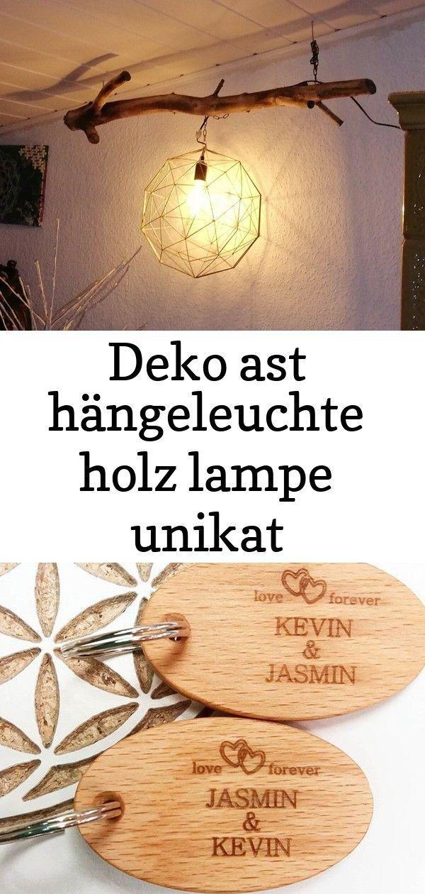 Ast Deko Handarbeit Hangeleuchte Holz Industry Lampe Style