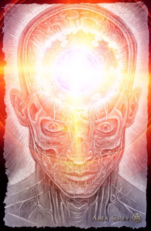 The Seer by Alex Grey                                                                                                                                                                                 Más