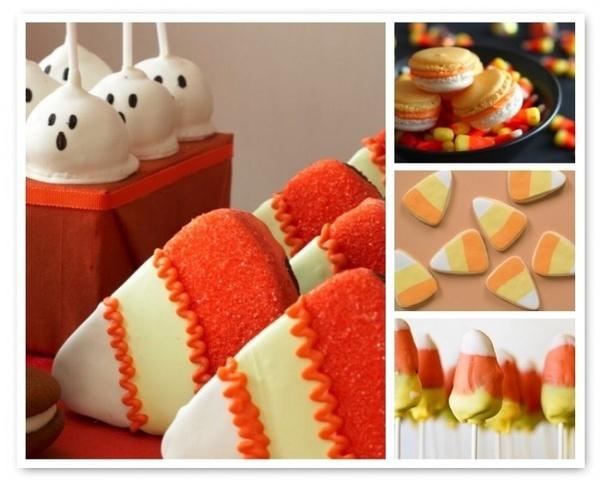 Halloween themed desserts