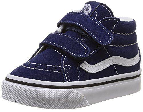 Vans Baby Boys' Sk8-Mid Reissue V (Infant/Toddler - Blue/