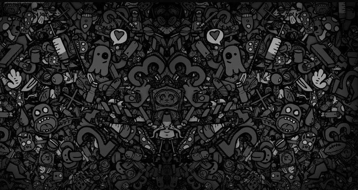 Dark Cartoon Drawing Wallpaper by HD Wallpapers Daily
