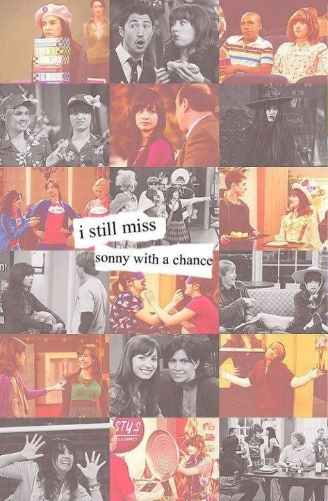 "4 years since SONNY WITH A CHANCE I loved it cuz I felt special since she was from ""Wisconsin"""