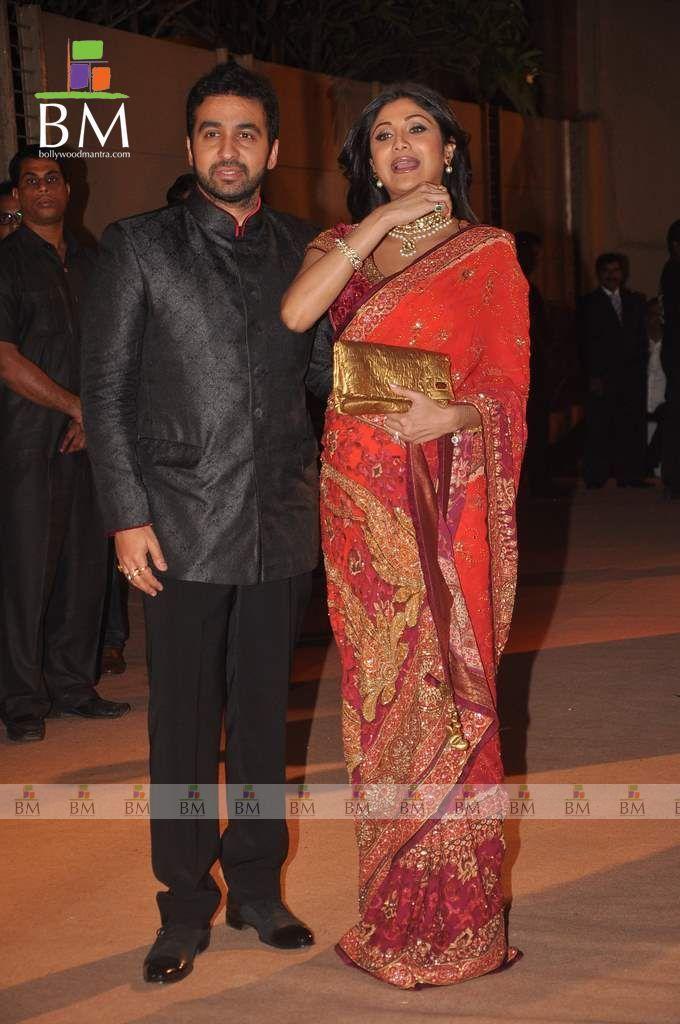 Shilpa Shetty The Wedding Reception Dheeraj Deshmukh And Honey Pic #2