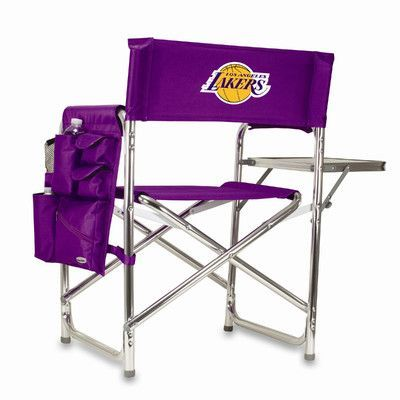 Picnic Time NBA Sports Chair Color: Purple, NBA Team: Los Angeles Lakers