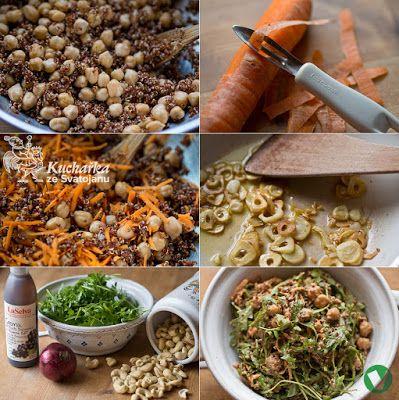 Kuchařka ze Svatojánu: CIZRNOVÝ SALÁT S QUINOOU