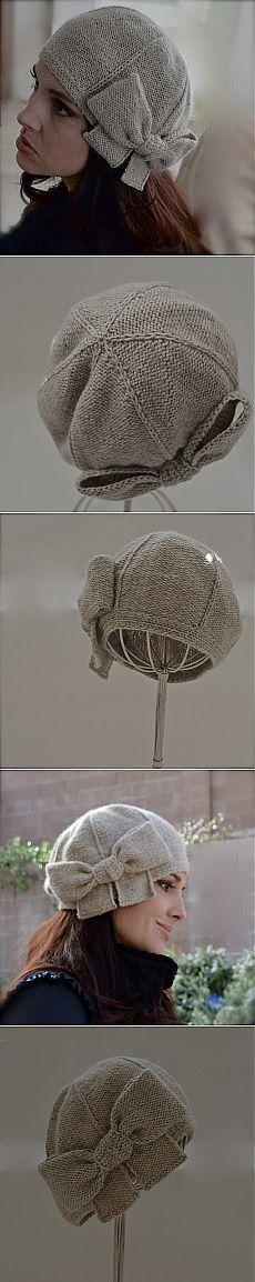"""Шляпка """"Beau Cloche """" от Натали Ларсон."""
