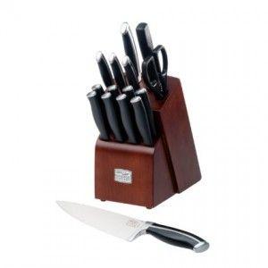 Chicago Cutlery Belmont 16-Piece Block Knife Set