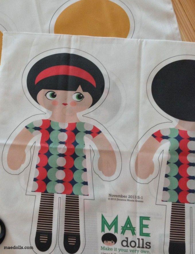 MAE Style 1 Doll Kit pattern