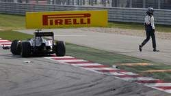 Sergio Pérez - accident au Grand Prix des USA 2014