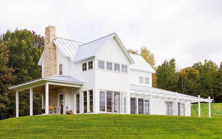 Top 25 Best Contemporary Farmhouse Exterior Ideas On
