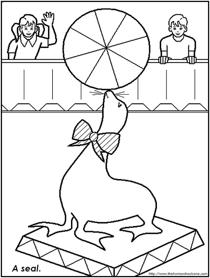 circus strongman coloring pages