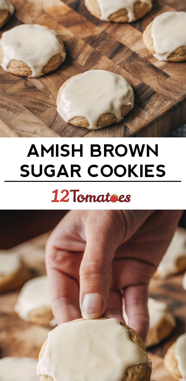 Amish Brown Sugar Cookies