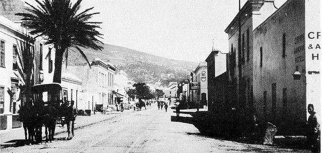 Long Street, Cape Town (1880's)