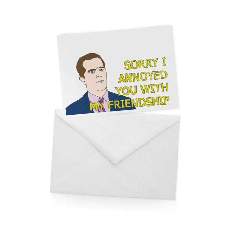 ANDY BERNARD Greetings Card