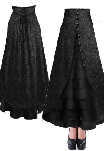 Victorian Walking Skirt --Brand Chic Star design by Amber Middaugh