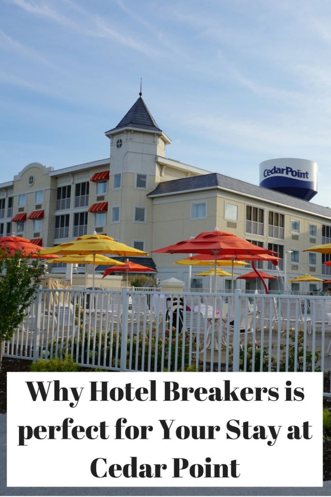Hotel Breakers is perfect for all family sizes as they provide restaurants on the property and Cedar Point access near by, while sitting on Lake Erie.
