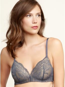 Chantilly Lace Wireless Bra by gap. Love the delicacy in the lace