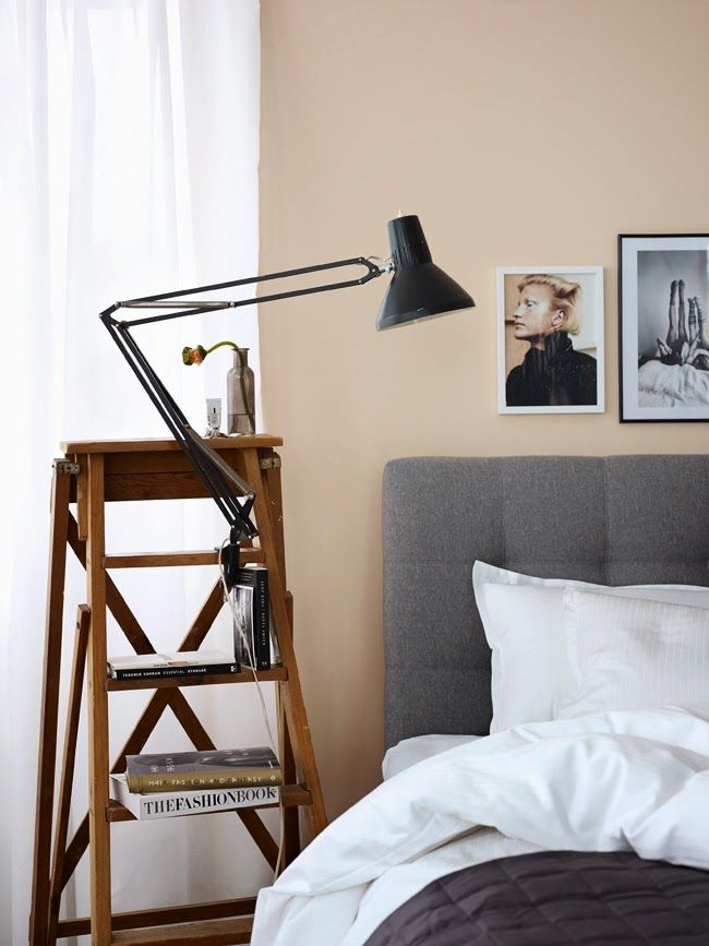 Lovely Idea To Steal Bedside Table Alternatives   Apartment 34 Pictures