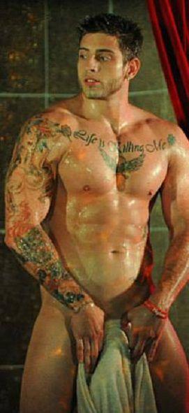 gay night lifemale stripper  yumminess  Tattoos