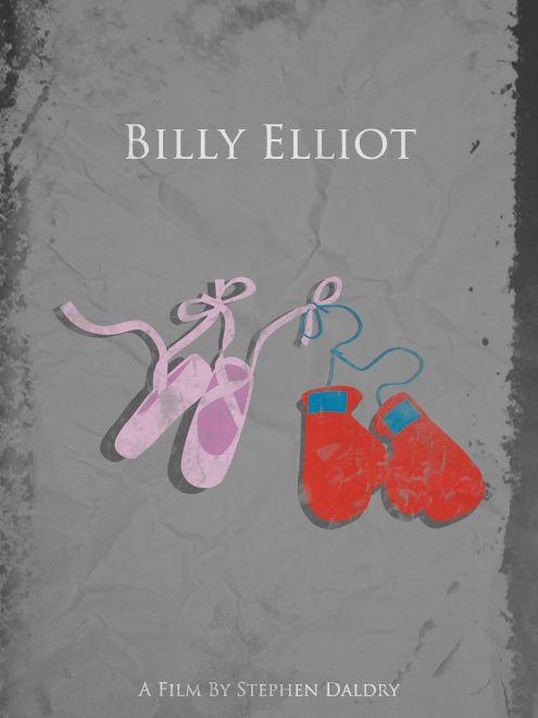 Billy Elliot (2000) - starring Jamie Bell as Billy Elliot, a boy ballet dancer <3