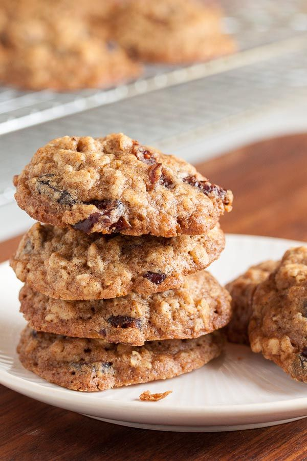 Walnut Cranberry Oatmeal Cookies – a sweet cookie contrasted with tart cranberries, soft and chewy oatmeal contrasted with crunchy walnuts.