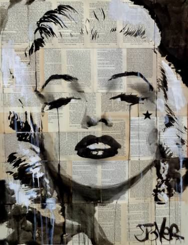 "Saatchi Art Artist LOUI JOVER; Drawing, ""star"" #art"