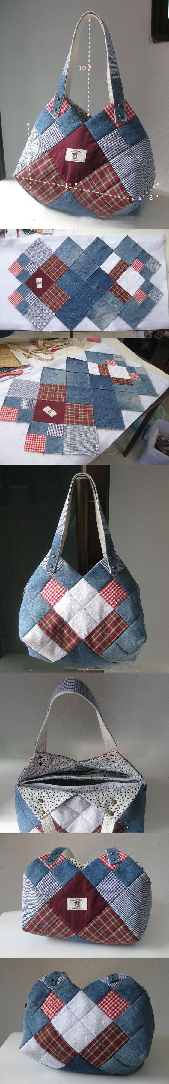 Как сшить джинсовую сумку своими руками. Схемы и подробный мастер-класс?