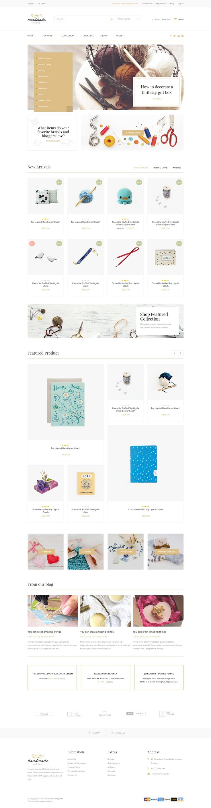 23 best MGS Magento Themes images on Pinterest