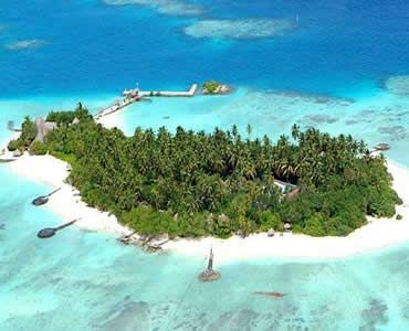 Makanudu Island Resort in the North Atoll of the Maldive Islands.  Spent a week on this little island scuba diving & soaking up sun.