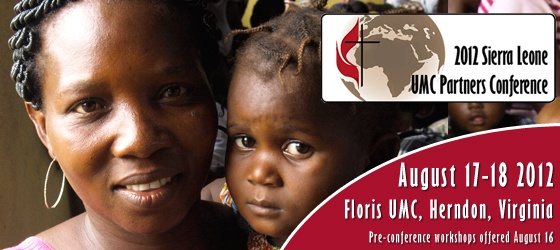 2012 Sierra Leone UMC Partners Conference.  Register today!
