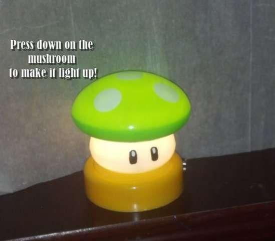 Nerdy gamer night lights touch lampsuper mario