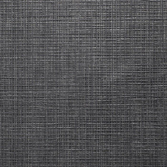 Linen Texture Midnight Shimmer Wallpaper by Graham and