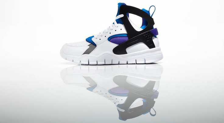 Nike Air Flight Huarache. My favorite shoe to play in. This is the 2012 version with the Nike free sole.