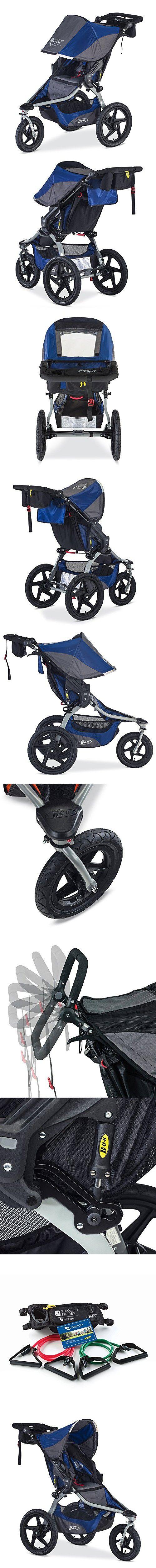 BOB 2016 Strides Fitness Stroller, Blue