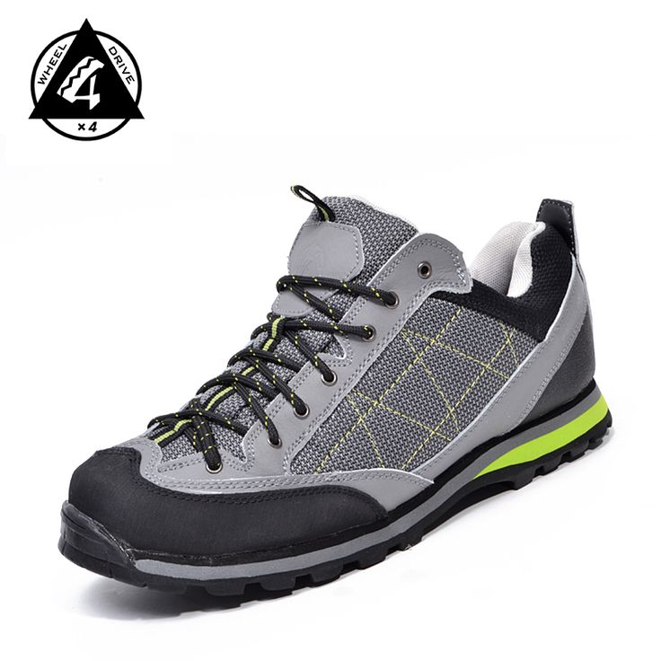 HOT SALE 4X4 Wheel Drive Waterproof Shoes Outdoor Breathable Shoes Mountain Climbing Shoes Free Shipping
