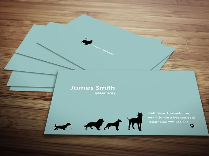 veterinary-business-card-template-preview.jpg (700×525) | Business ...