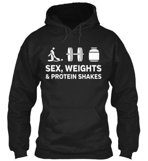 http://www.myfitnesscloset.com/sex-weights-protein-shakes-hoodie/   #wish #list now #Sex #Weights #Protein #Shakes #Hoodie #myfitnesscloset #wolfzuachis