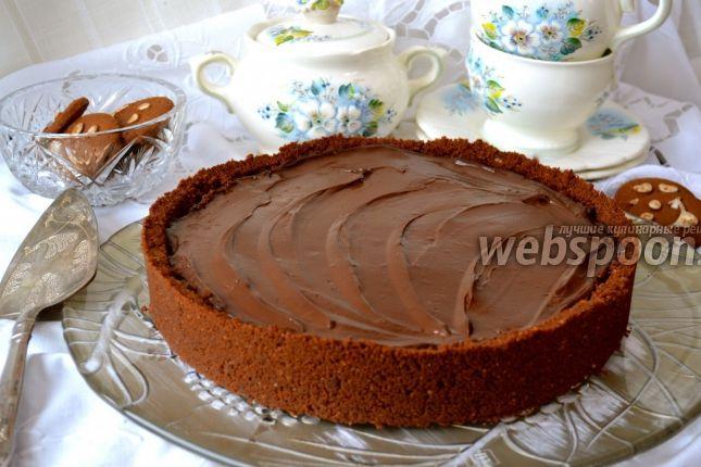 Шоколадный пай «Грязь Миссисипи» рецепт с фото, как приготовить на Webspoon.ru