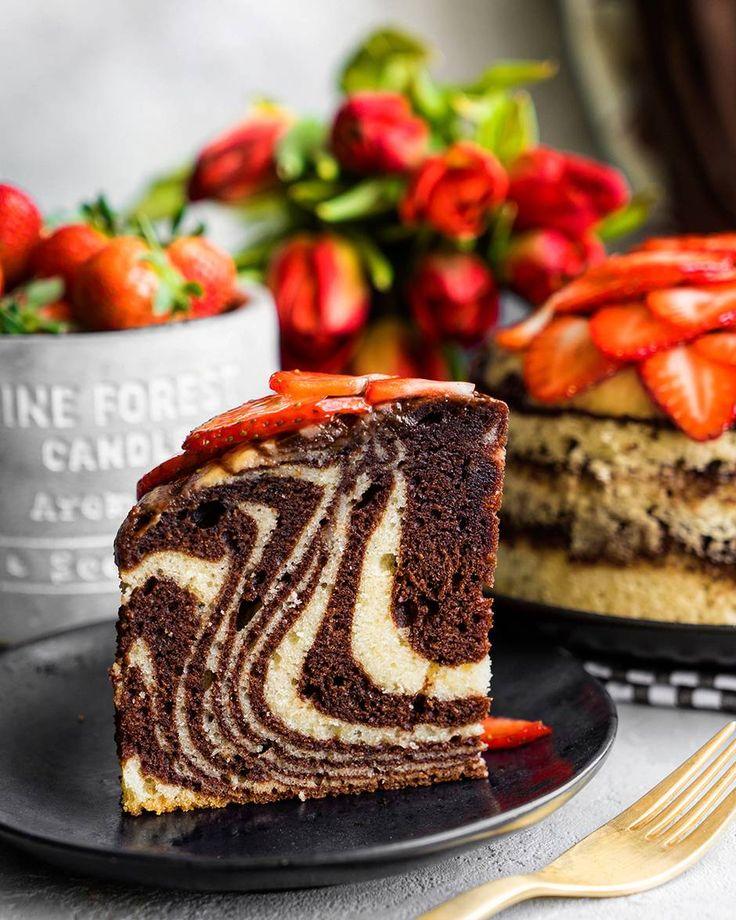 Зебра — самый правильный мраморный кекс | Andy Chef (Энди ...