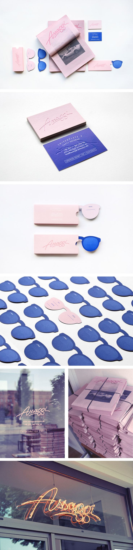 Assaggi | Studio Hausherr clever mailer #identity #packaging #branding PD
