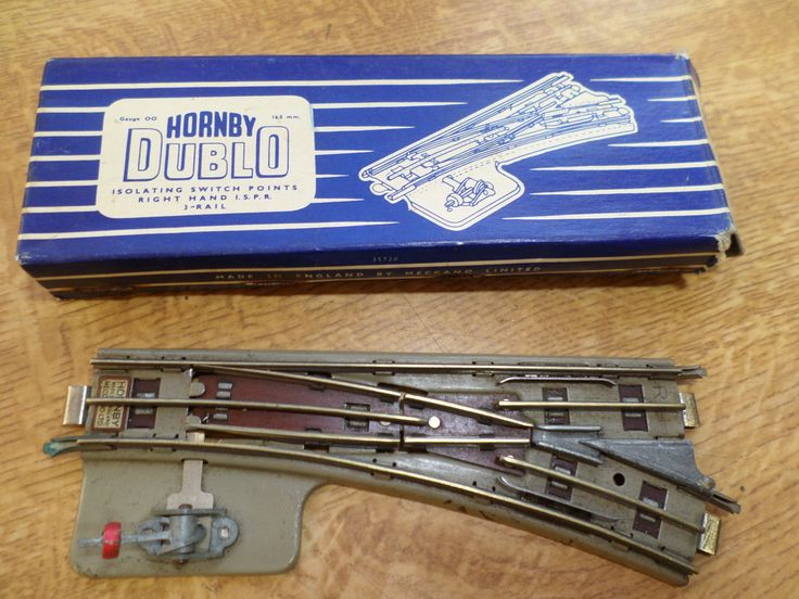 Hornby Dublo 3 Rail Isolating Switch Points Right Hand by RoseCollectable on Etsy