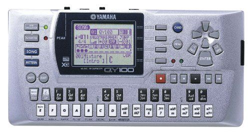 Yamaha QY100 Music Sequencer  http://www.instrumentssale.com/yamaha-qy100-music-sequencer/