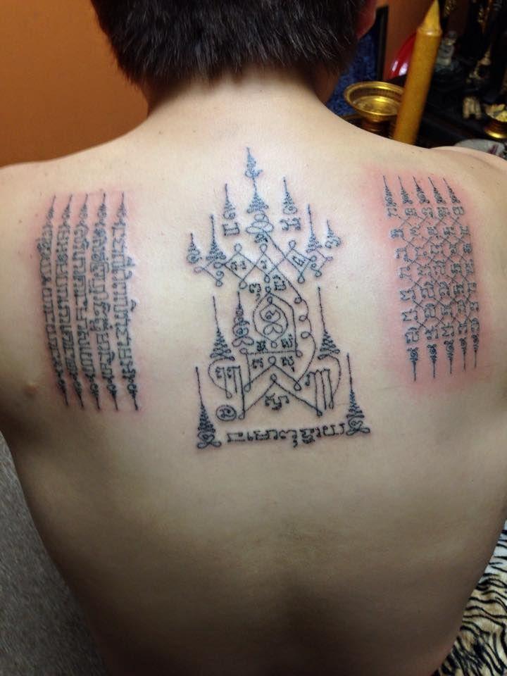 Die besten 17 ideen zu thai tattoo auf pinterest khmer for Sak yant tattoo rules