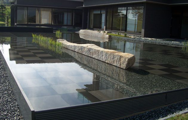 Floating Stone & Transfiguration of Water Garden