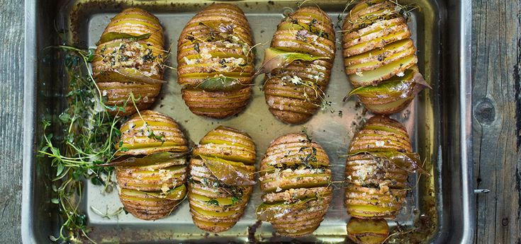 Beate Hasselback poteter | Oppskrift på Lises blogg