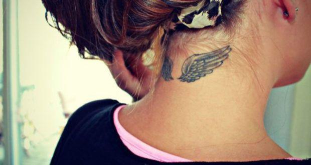 30 sorprendentes diseños de tatuajes de alas de ángel