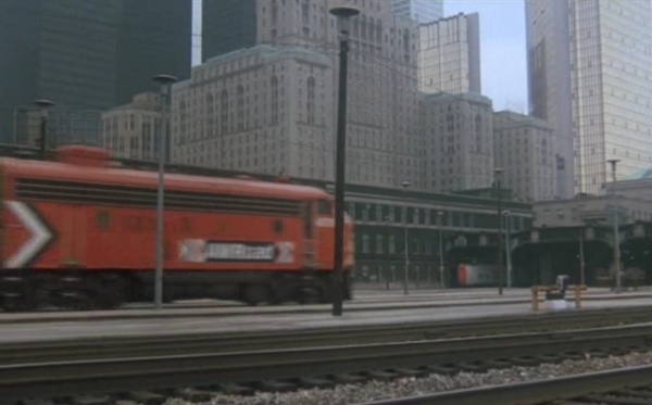 Silver Streak arrives in Chicago, 1976
