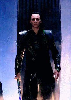 Loki kneels before me *swoon*, by Lelja