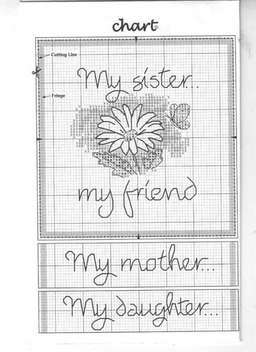 9 best Sisters Cross Stitch Patterns images on Pinterest